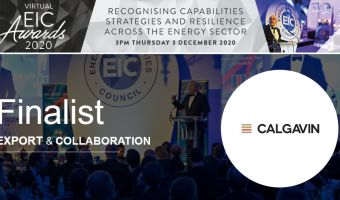 CALGAVIN shortlisted for the Energy Industry Council awards