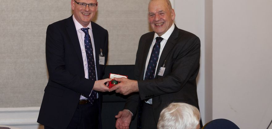 Martin Gough becomes President at 55th Heat Transfer Society